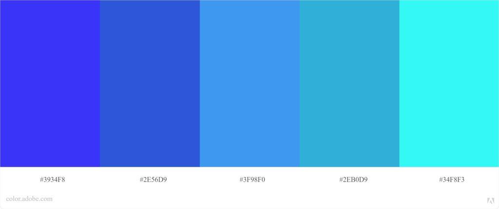 פלטת צבעים אנלוגית