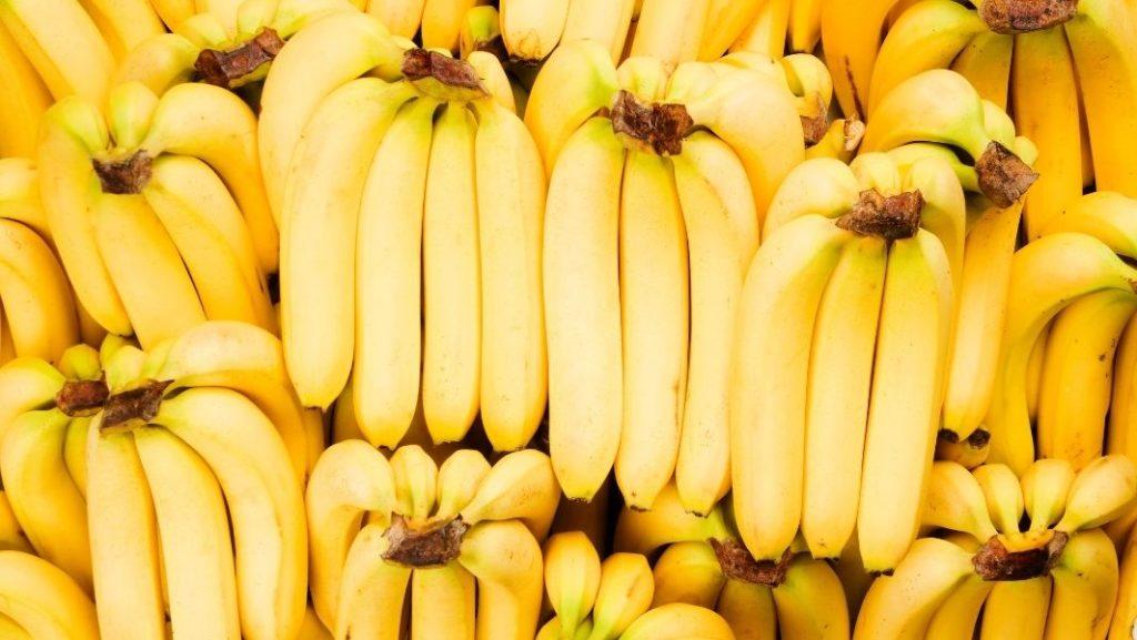 בננות צהובות
